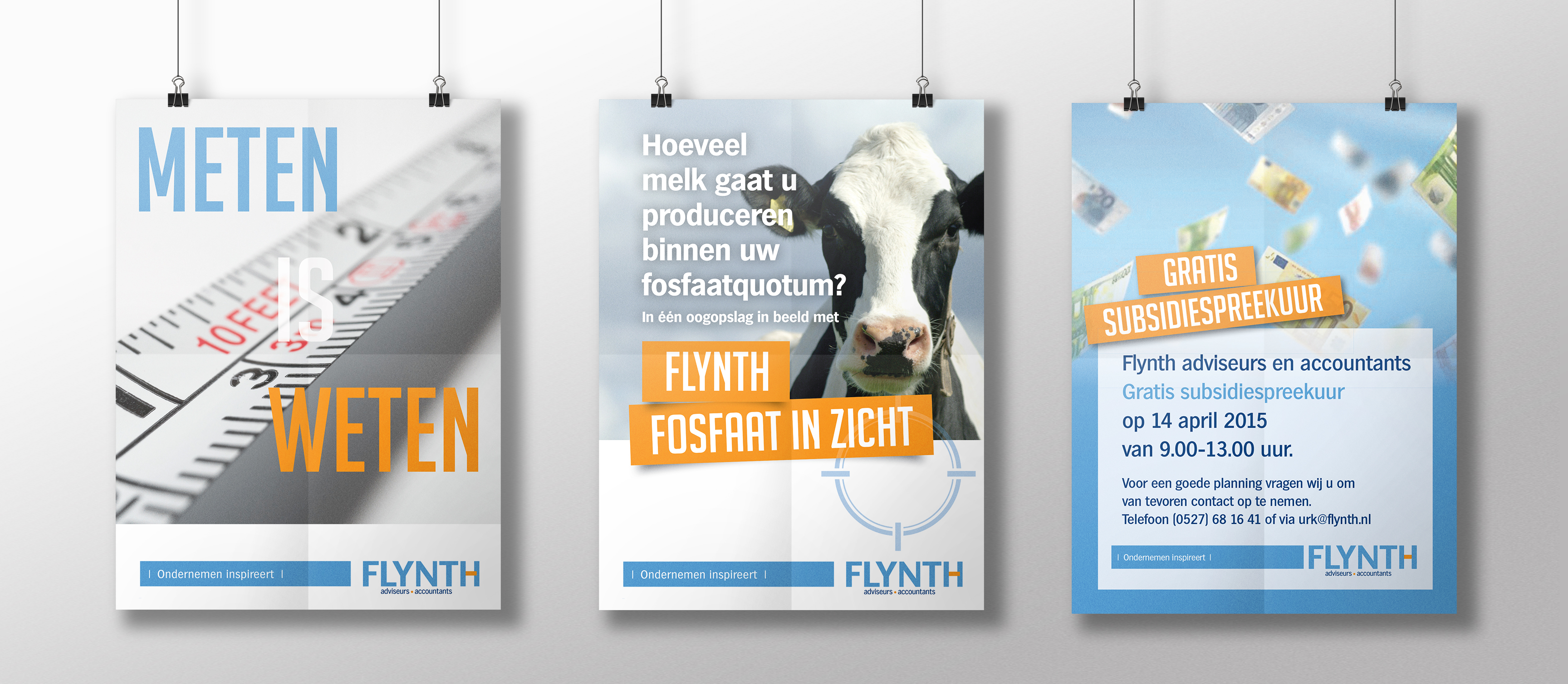drie affiches flynth