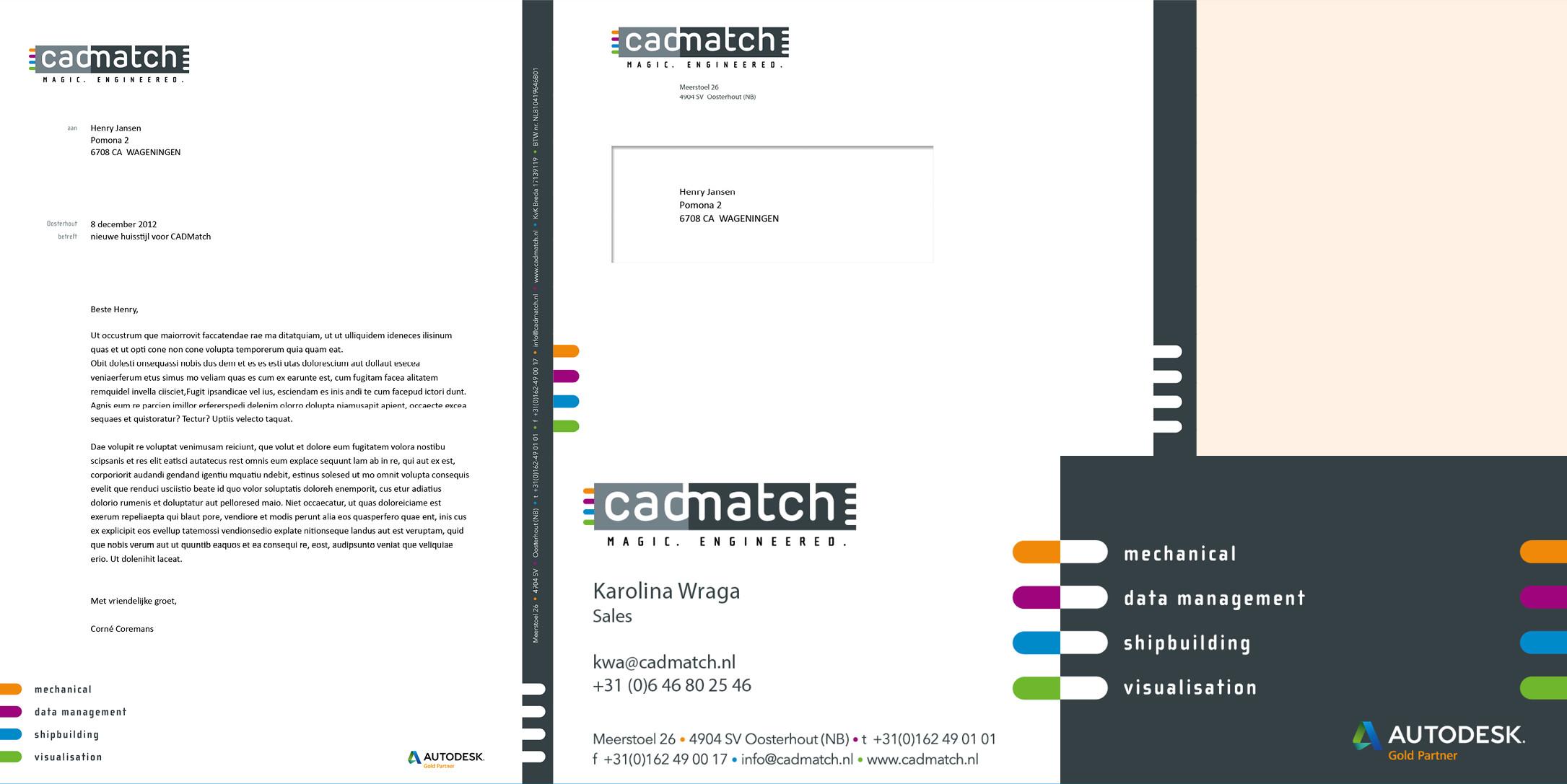 correspondentie Cadmatch