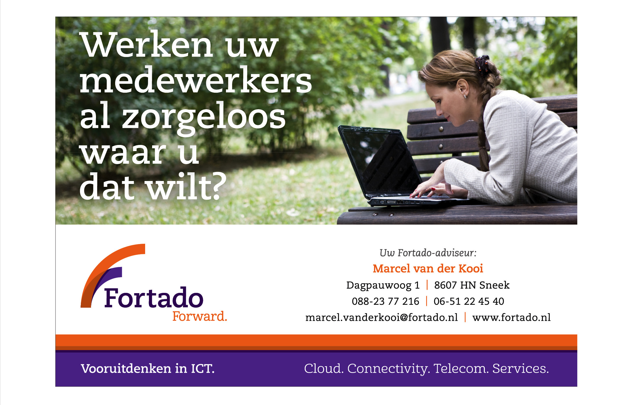 Advertentie Fortado