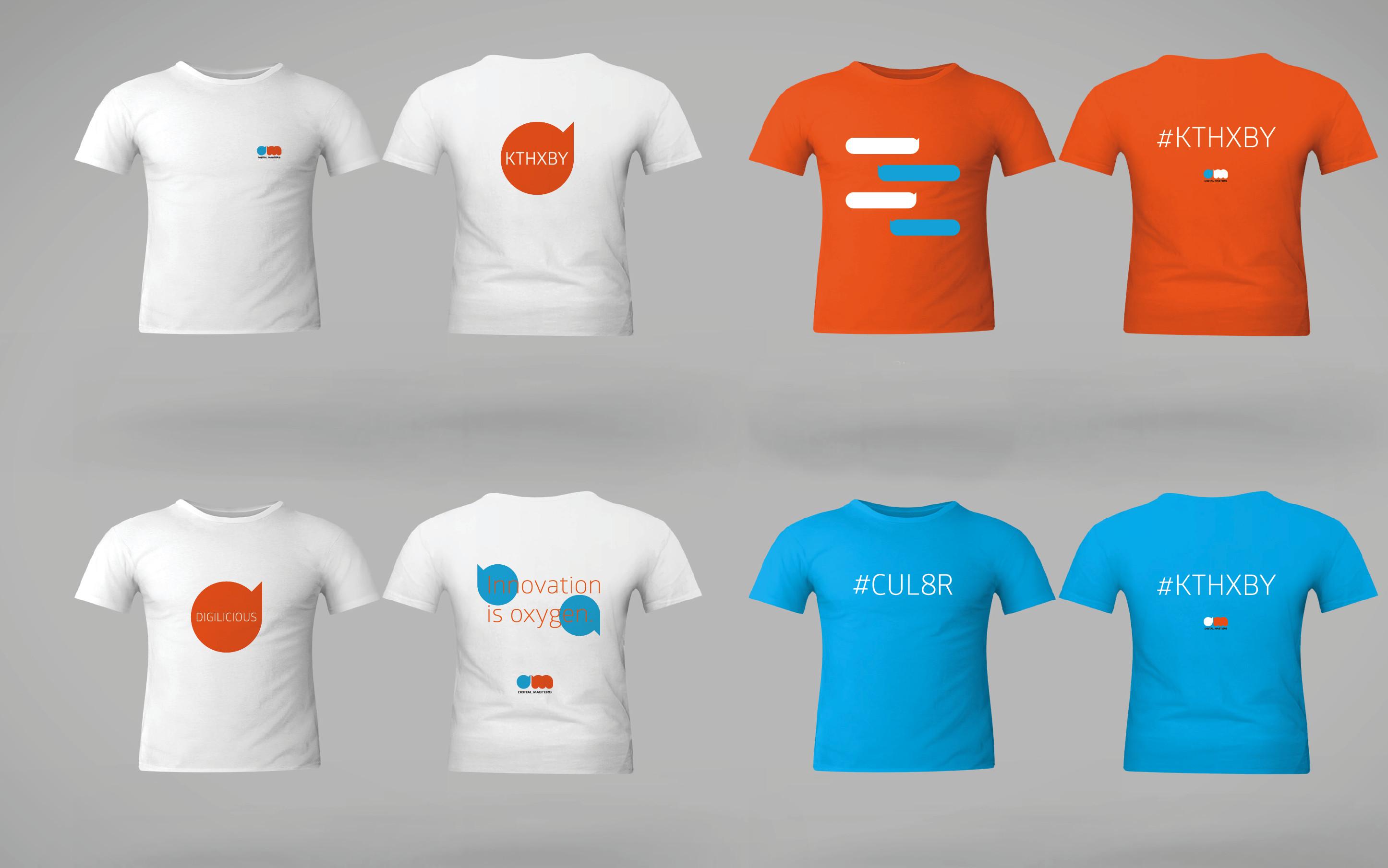 t-shirts Digital Masters
