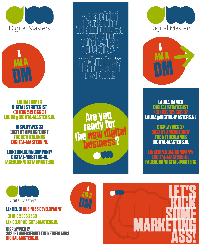 visitekaartjes Digital Masters 2